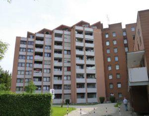 Verwaltung einer Wohnanlage mit 90 Einheiten in Augsburg